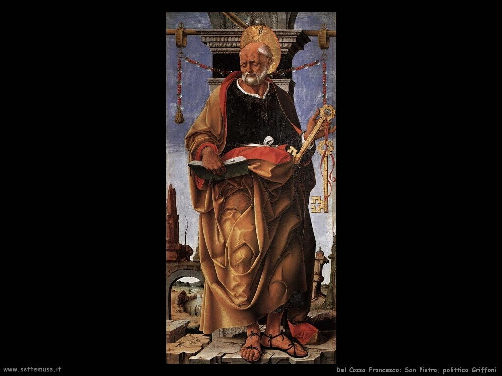 del cossa francesco  San Pietro