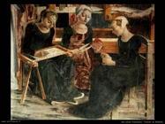 del cossa francesco Trionfo di Minerva (dett)