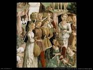del cossa francesco  Allegoria di aprile, trionfo di Venere (dett)