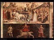 del cossa francesco  Allegoria di marzo, trionfo di Minerva