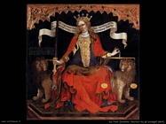 del fiore jacobello La Giustizia tra gli arcangeli (dett)