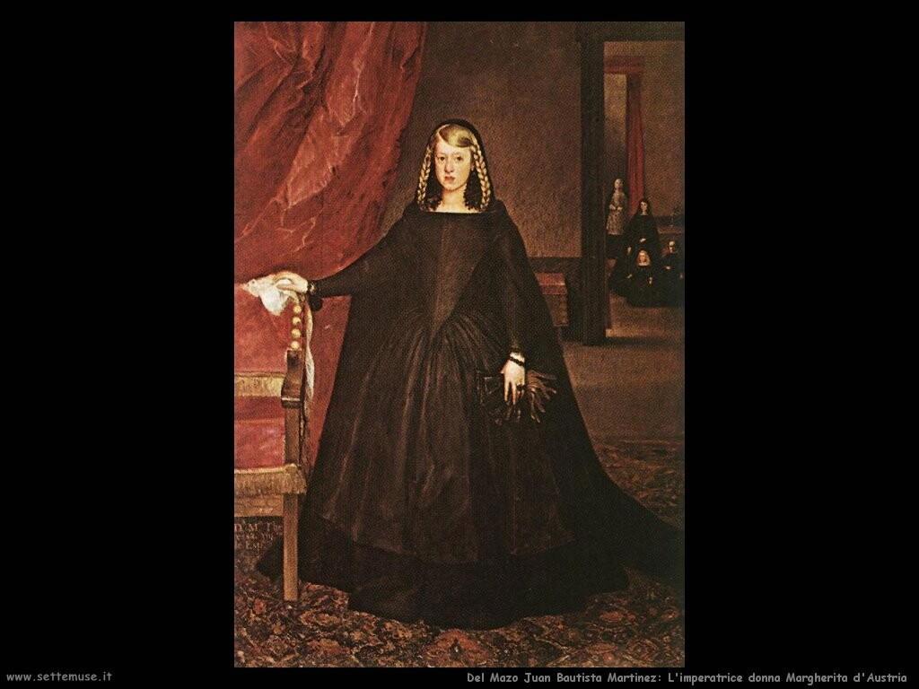 del mazo juan bautista martinez L'imperatrice donna Margarita d'Austria