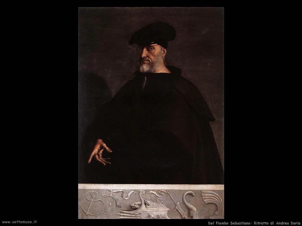 del piombo sebastiano  Ritratto di Andrea Doria