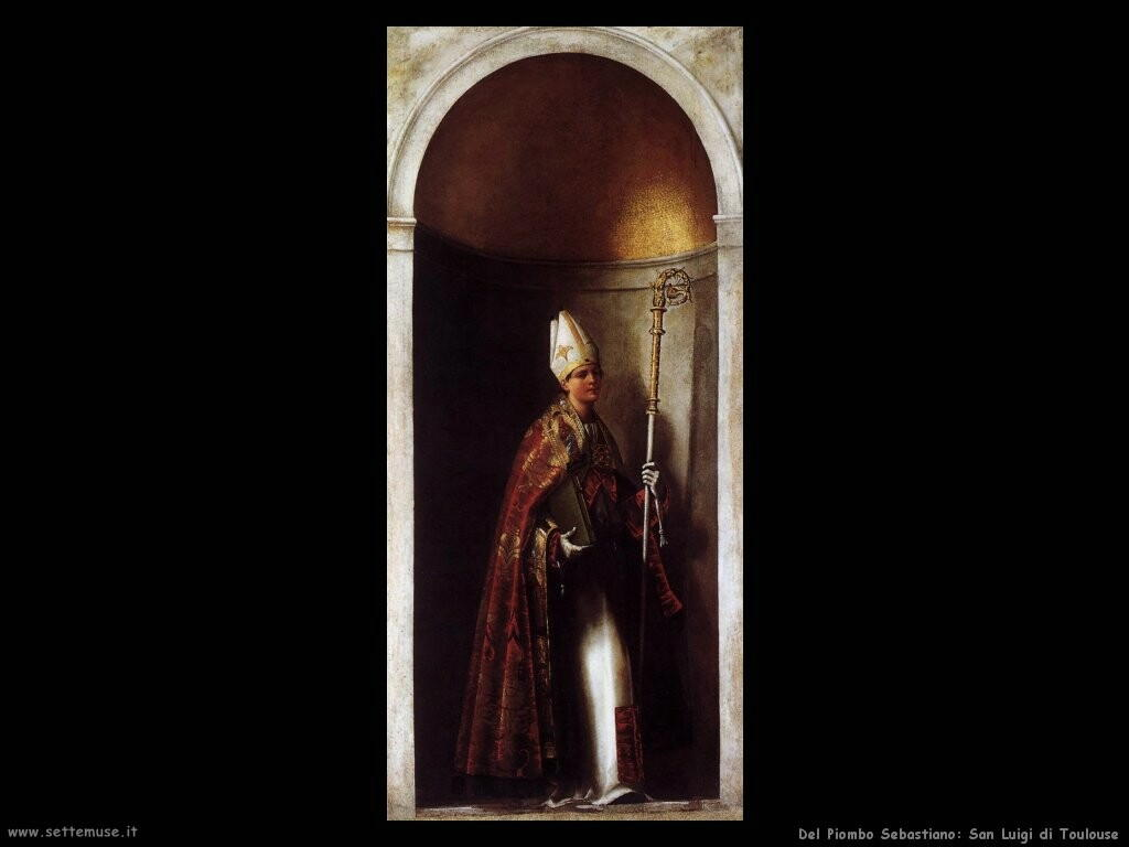 del piombo sebastiano  San Luigi di Toulouse