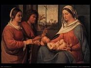 del piombo sebastiano Sacra conversazione