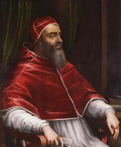 Pittura di Sebastiano del Piombo