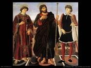 del pollaiuolo piero Pala d'altare con tre santi