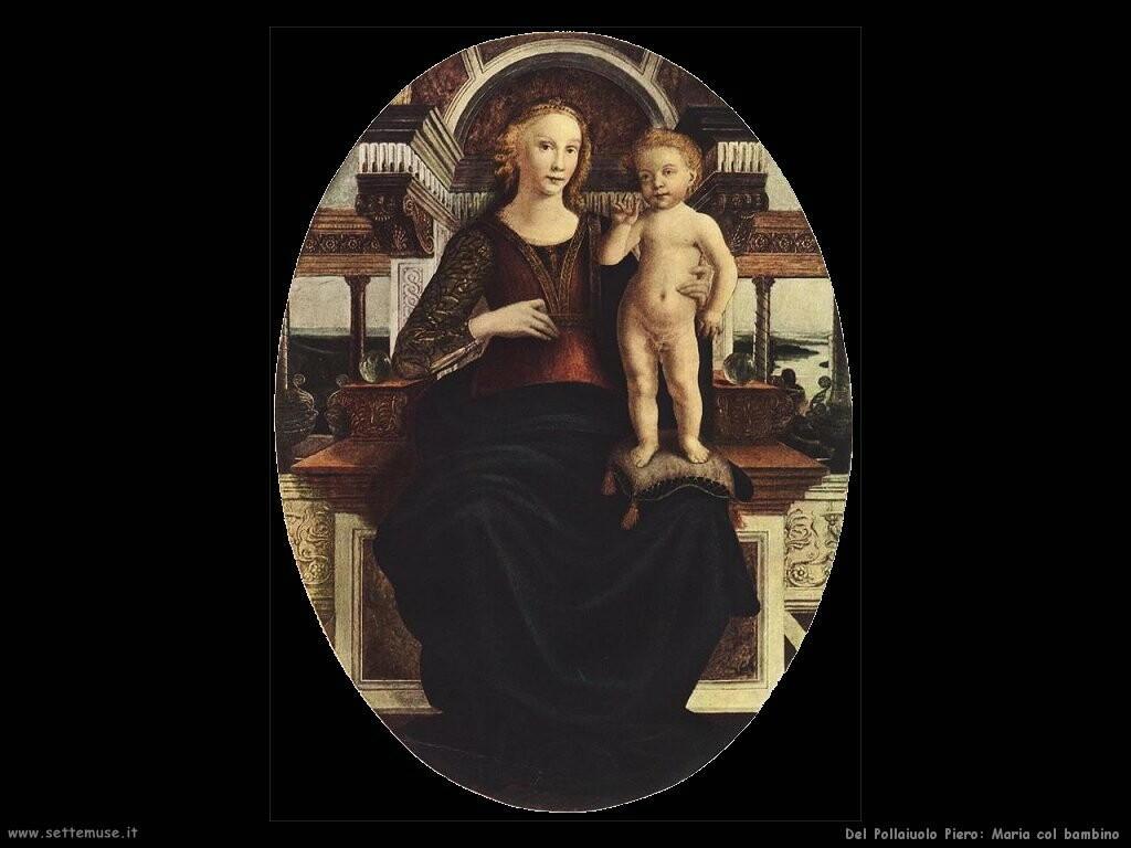 del pollaiuolo piero Maria con il bambino