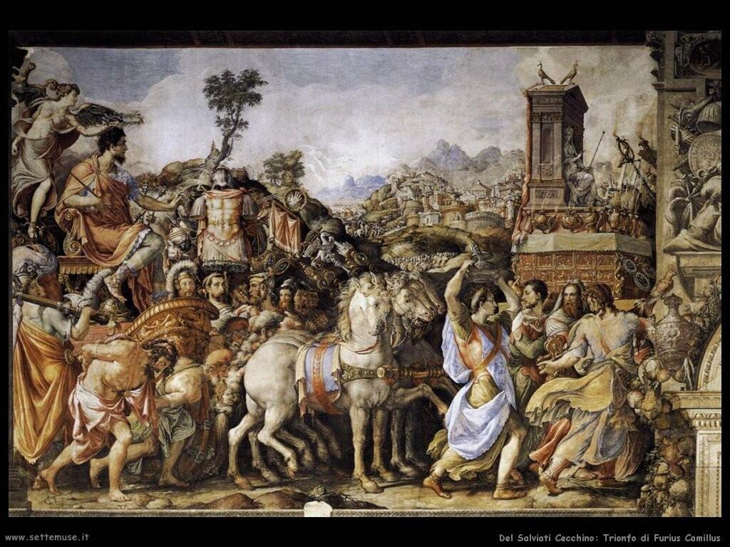 Del Salvati Cecchino Trionfo di Furius Camillus