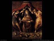 del salviati cecchino  Incoronazione della Vergine con angeli