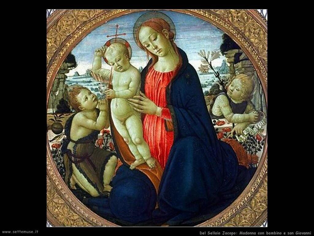 del sellaio jacopo Madonna con bambino