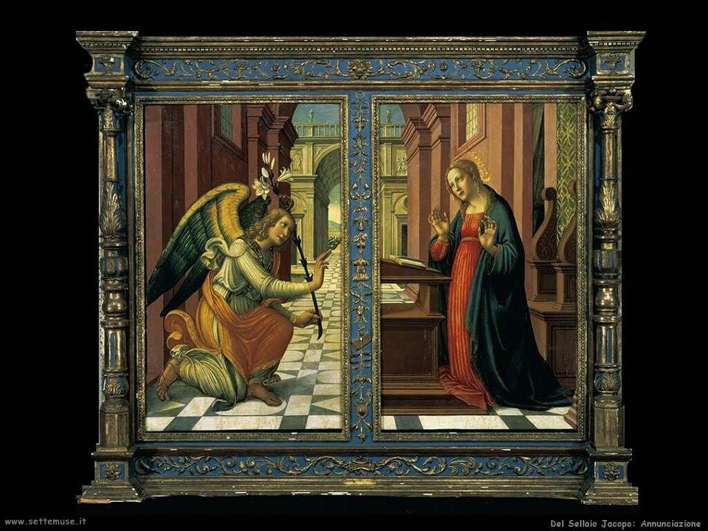 del sellaio jacopo Annunciazione