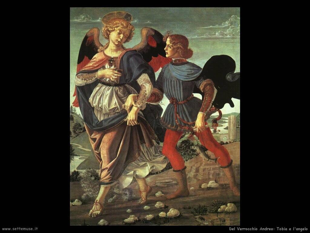 del verrocchio andrea Tobia e l'angelo