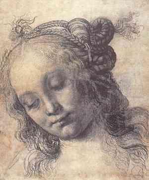 Disegno di Andrea Del Verrocchio