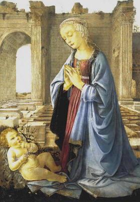 Dipinto di Andrea Del Verrocchio