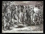 delff willem jacobsz Cavalcata degli undici principi di Orange Nassau