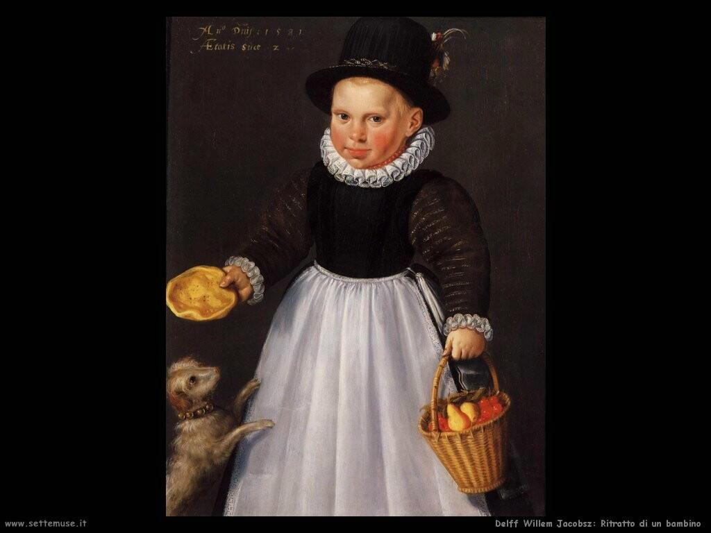 delff willem jacobsz Ritratto di un giovane