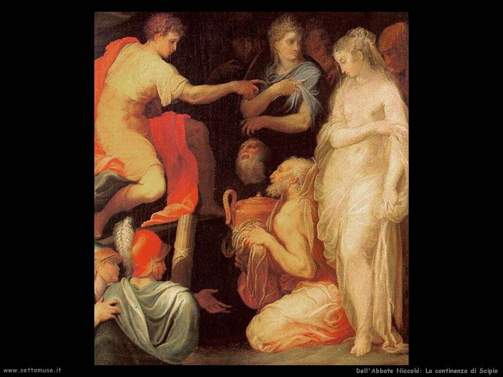 dell abbate niccolo  Continenza di Scipio