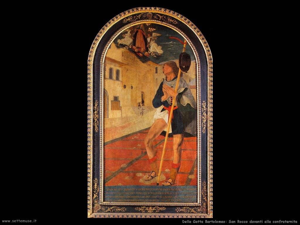 della gatta bartolomeo San Rocco davanti alla confraternita
