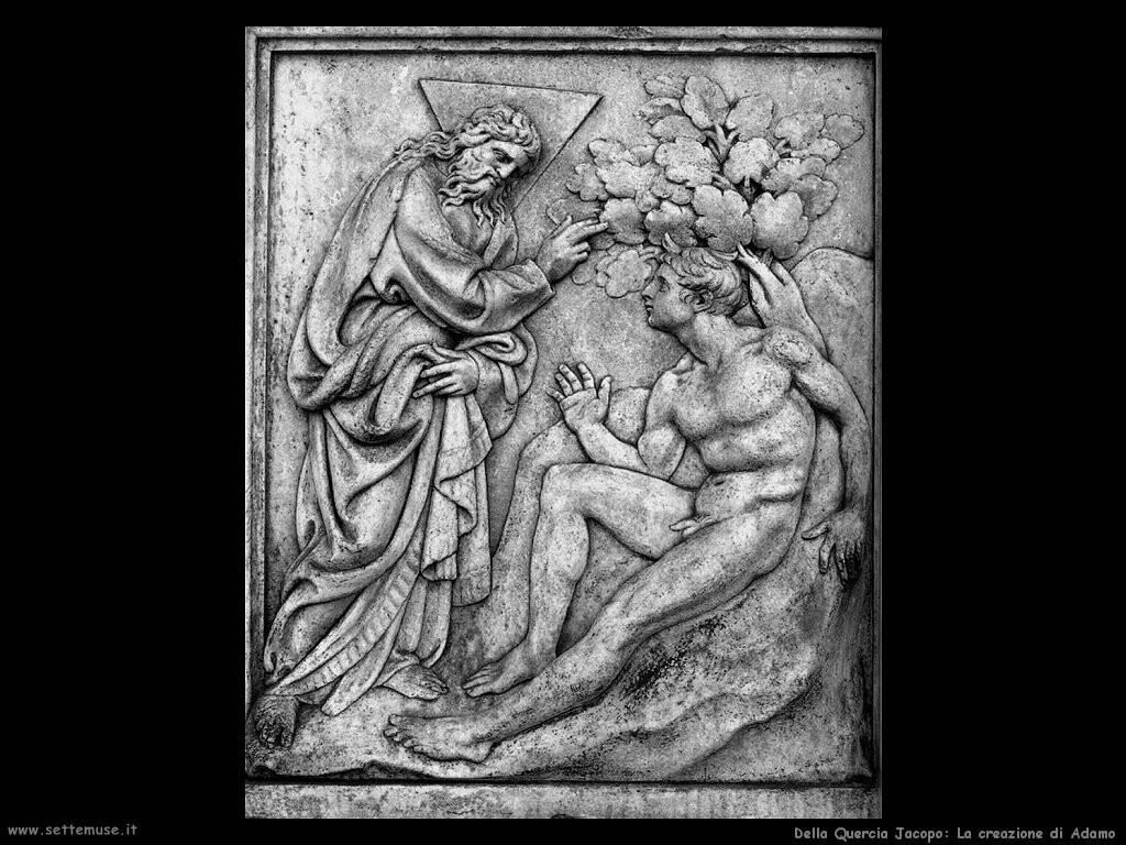 della quercia jacopo La creazione di Adamo
