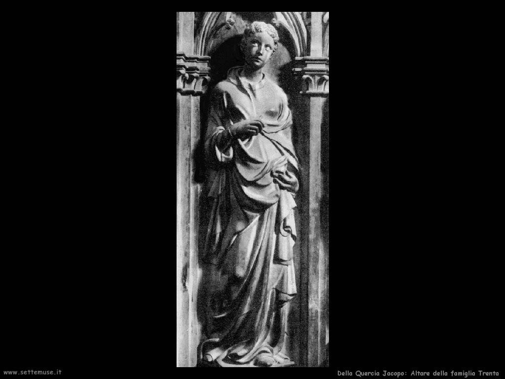 della quercia jacopo  Altare