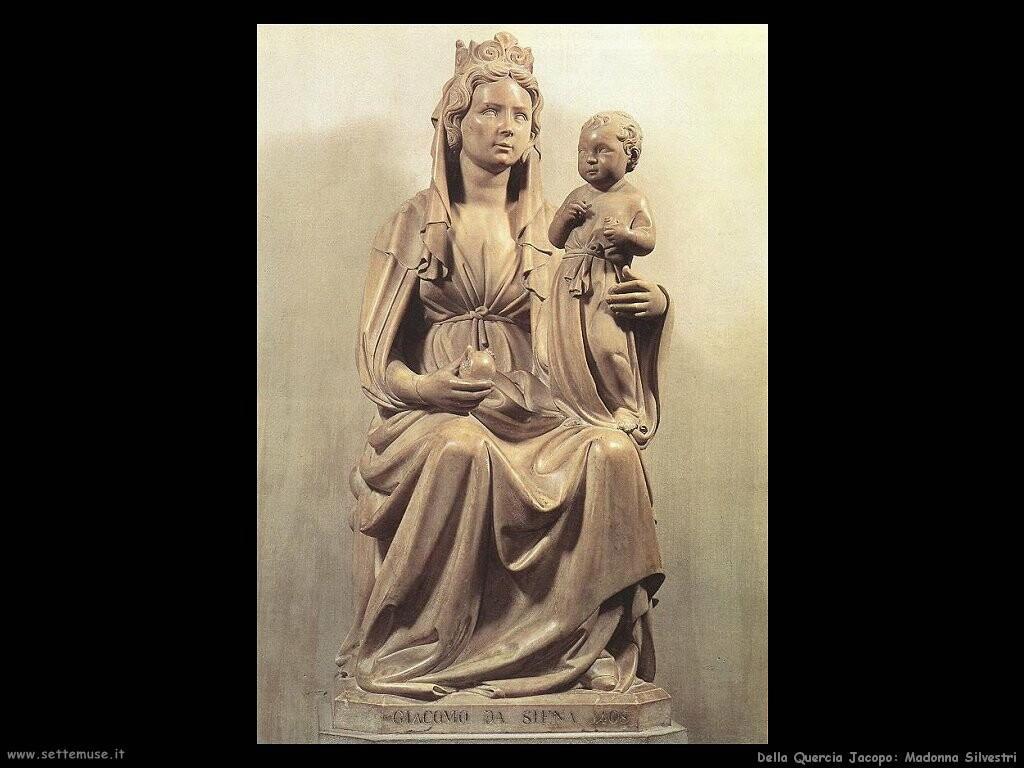 della quercia jacopo Madonna Silvestri