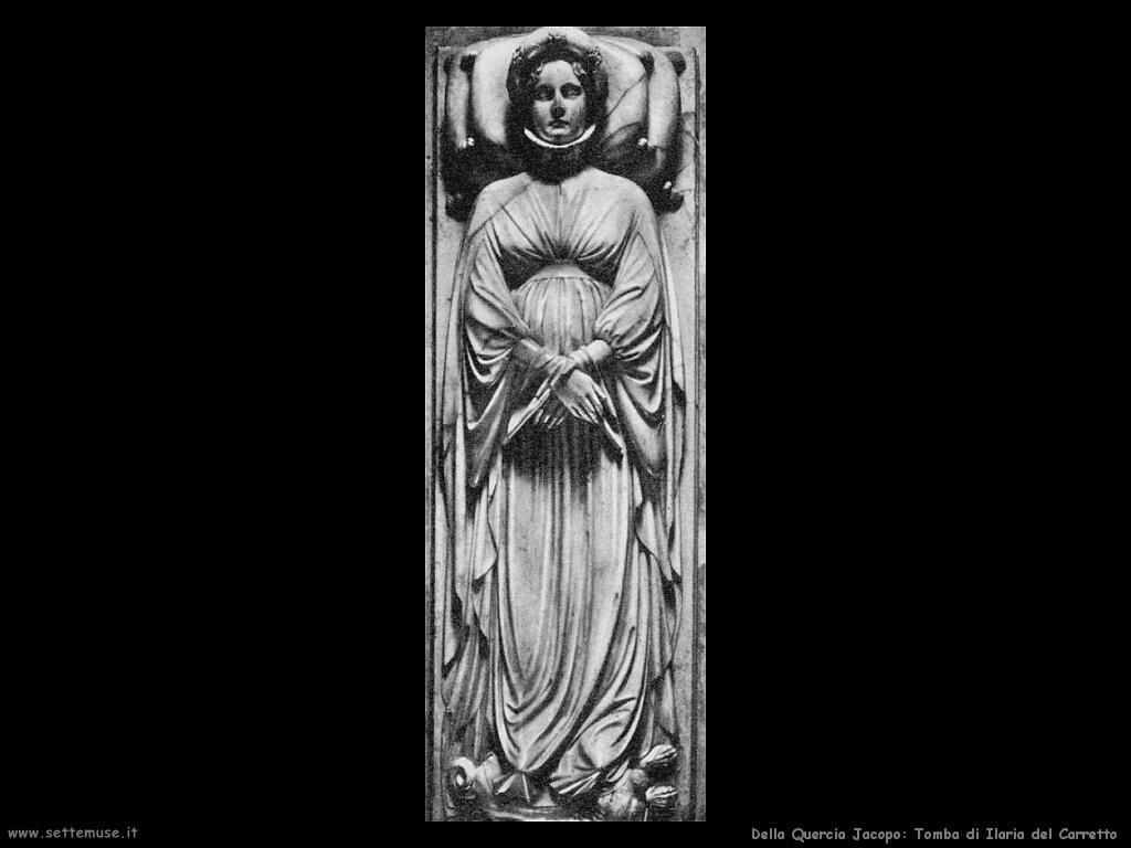 della quercia jacopo Tomba di Ilaria del Carretto