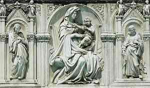 Scultura di Jacopo della Quercia