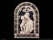 della robbia andrea  Madonna dello scalpellino