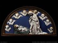 della robbia andrea Vergine Maria in adorazione di Cristo bambino