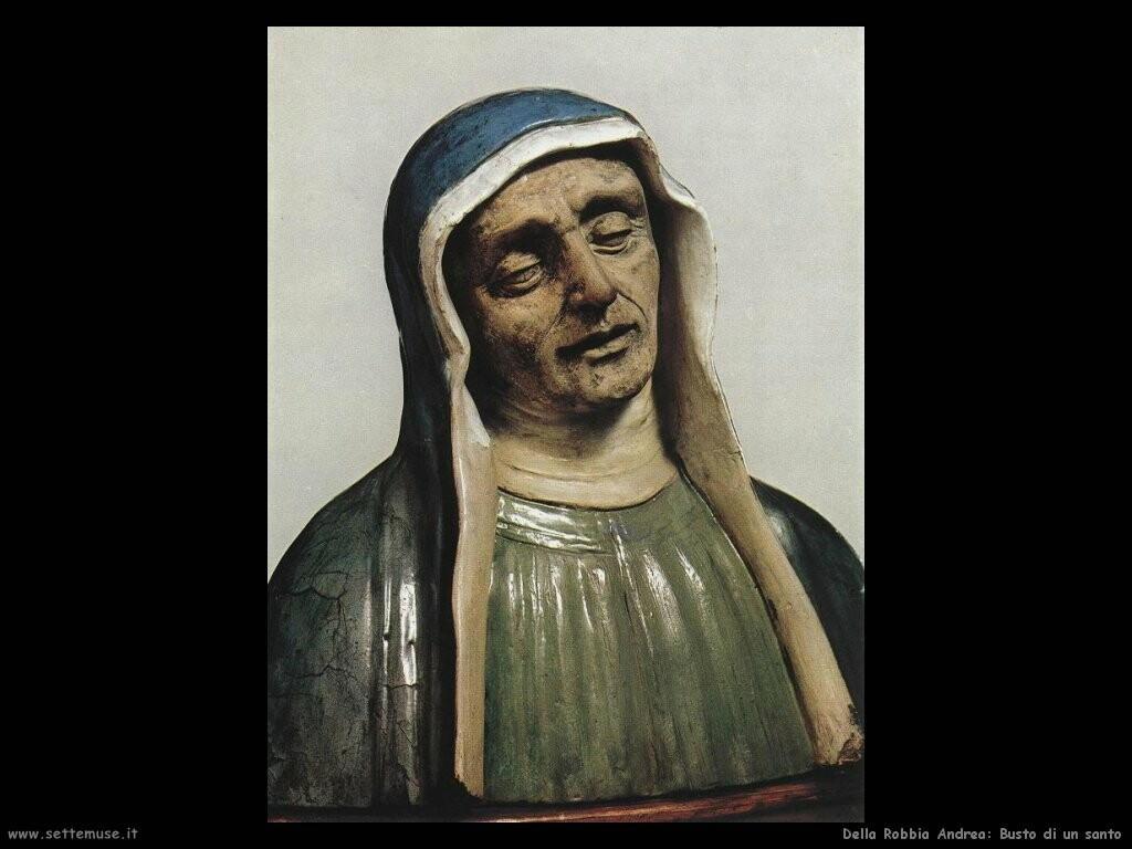 della robbia giovanni Busto di un santo