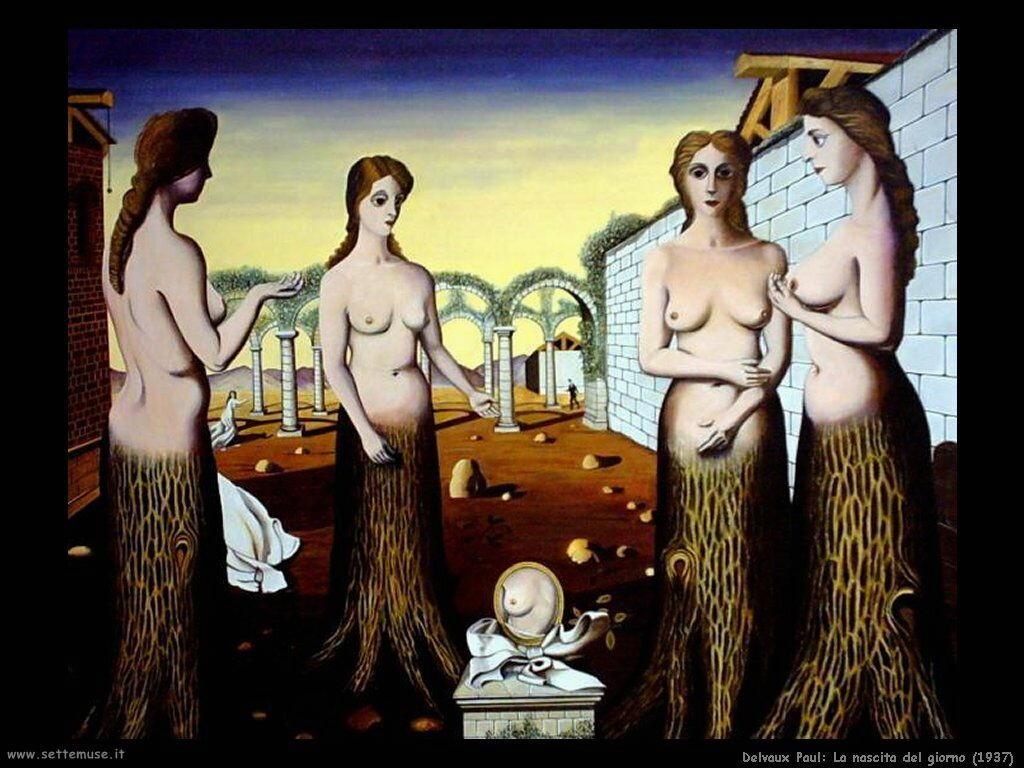 Delvaux Paul La nascita del giorno (1937)