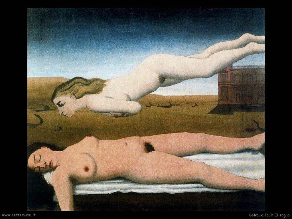 Delvaux Paul Il sogno