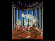Delvaux Paul Lo scheletro e la conchiglia