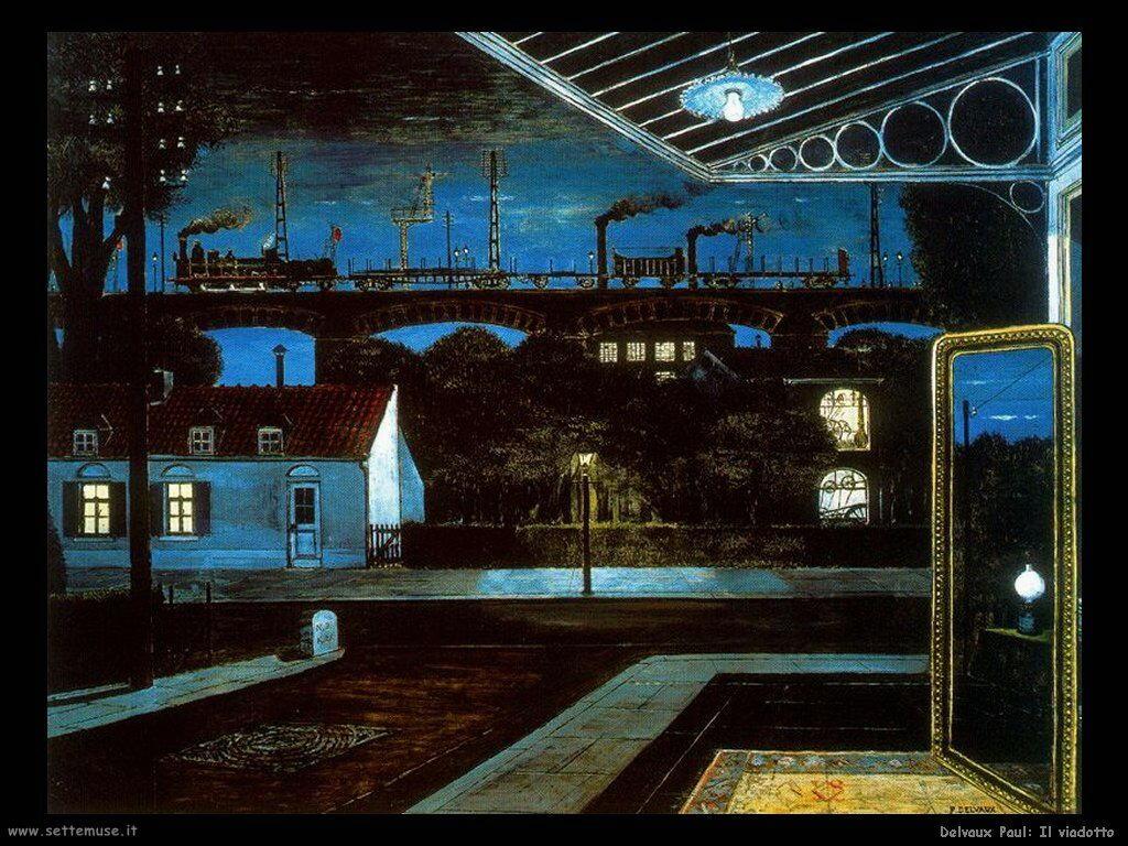 Delvaux Paul Il viadotto