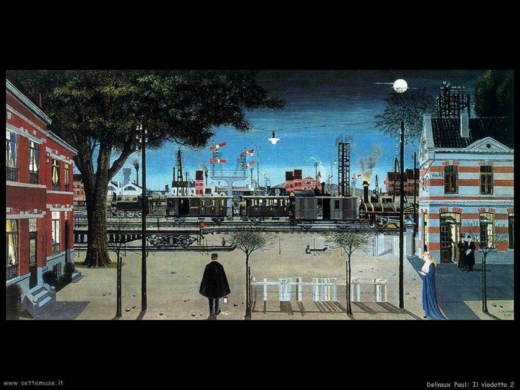 Delvaux Paul Il viadotto 2
