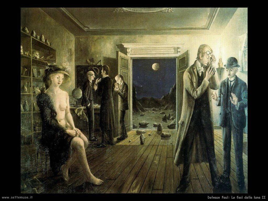 Delvaux Paul Le fasi della luna II