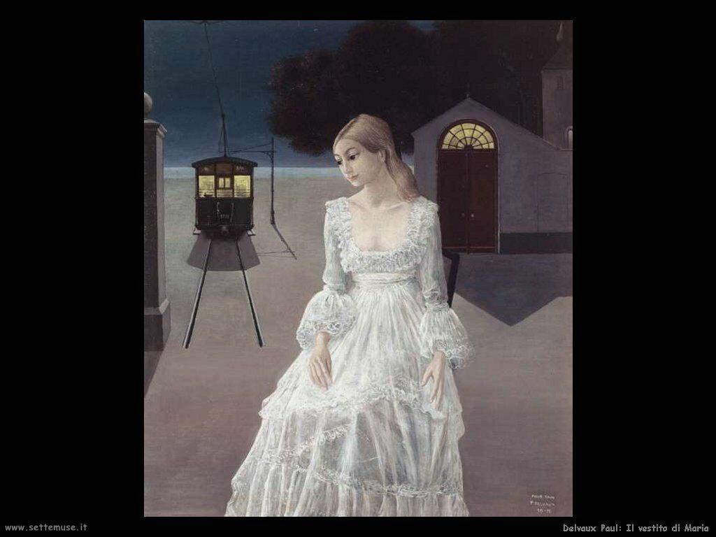 Delvaux Paul Il vestito di Maria