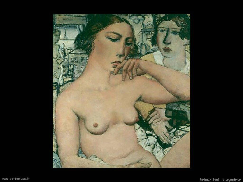Delvaux Paul La sognatrice