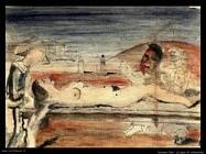 Delvaux Paul La pena d'Arlecchino