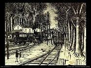 Delvaux Paul Stazione forestale