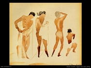 demuth charles Figure semi nude (1916)