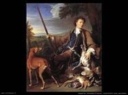 desportes alexandre francois Autoritratto come cacciatore