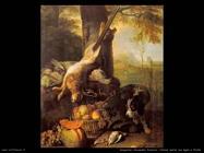 desportes alexandre francois Natura morta con lepre e frutta