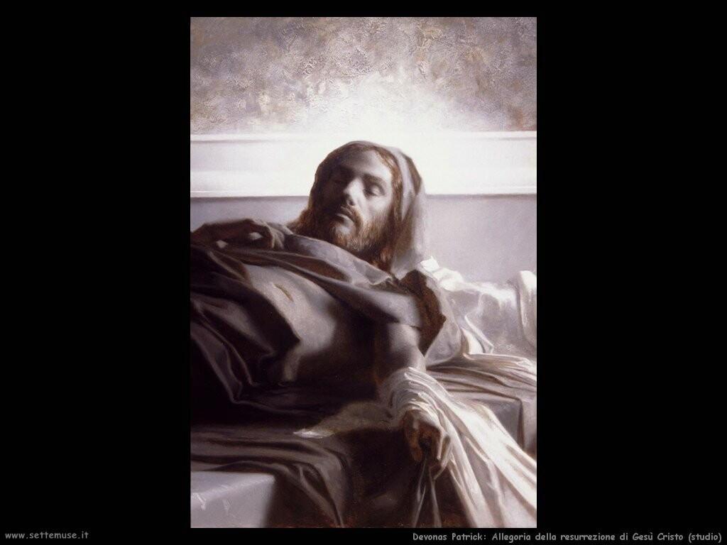 devonas patrick Allegoria della resurrezione di Gesù Cristo (studio)