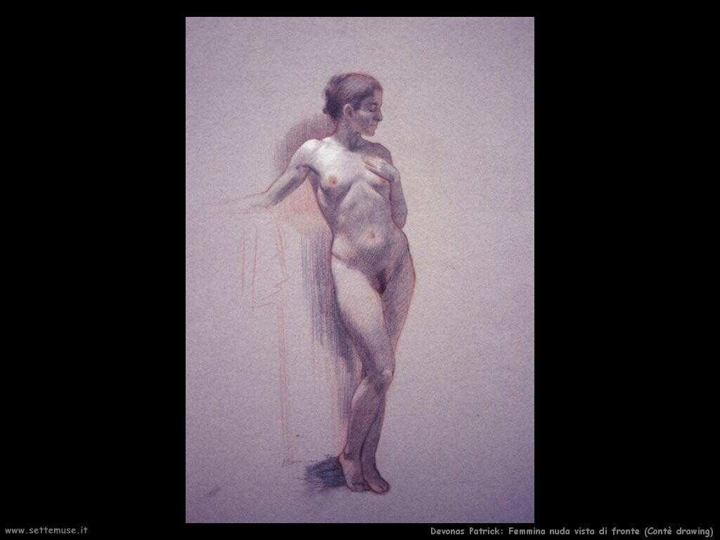 devonas patrick Nudo femminile frontale