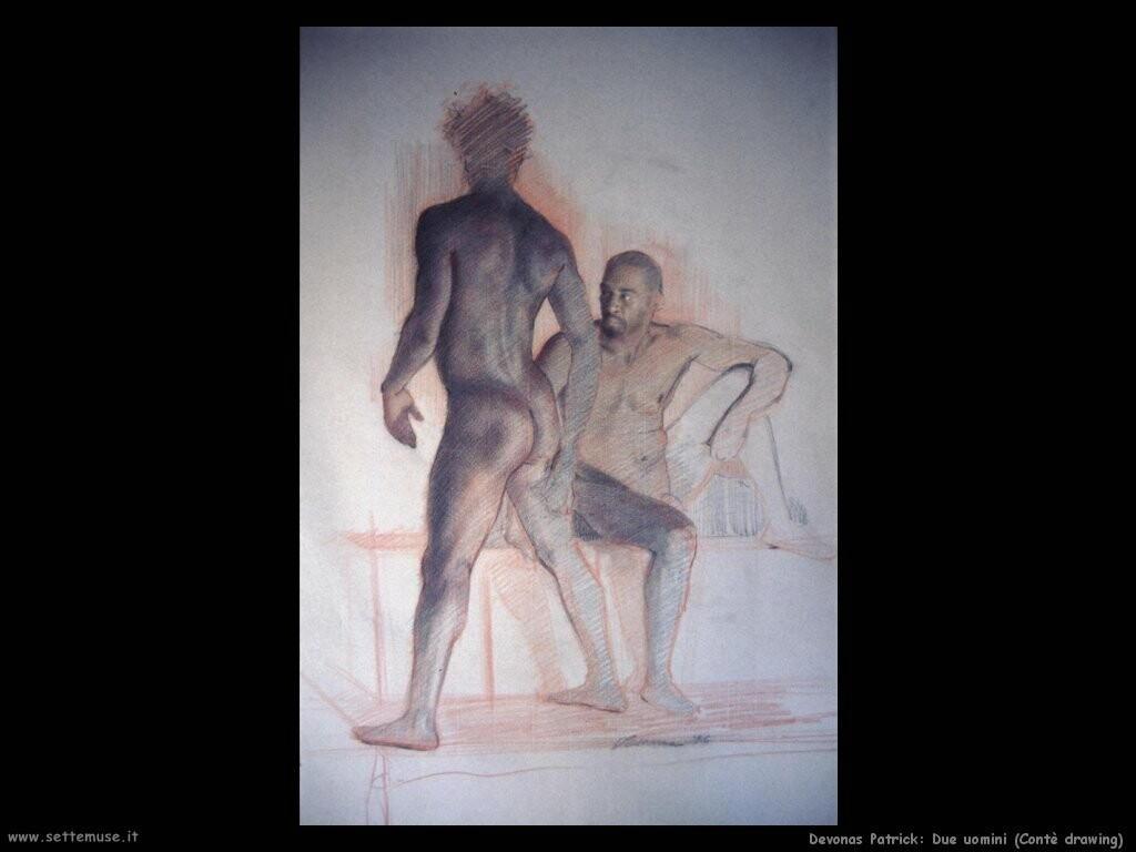 devonas patrick Disegno di due uomini