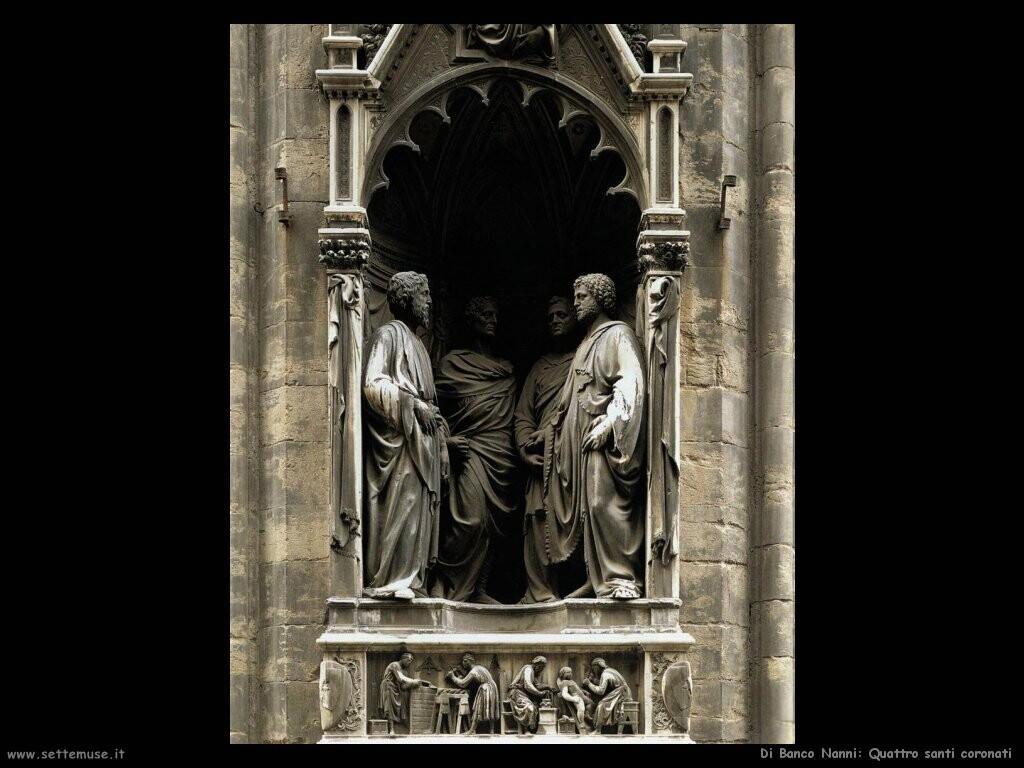 di banco nanni Quattro santi coronati