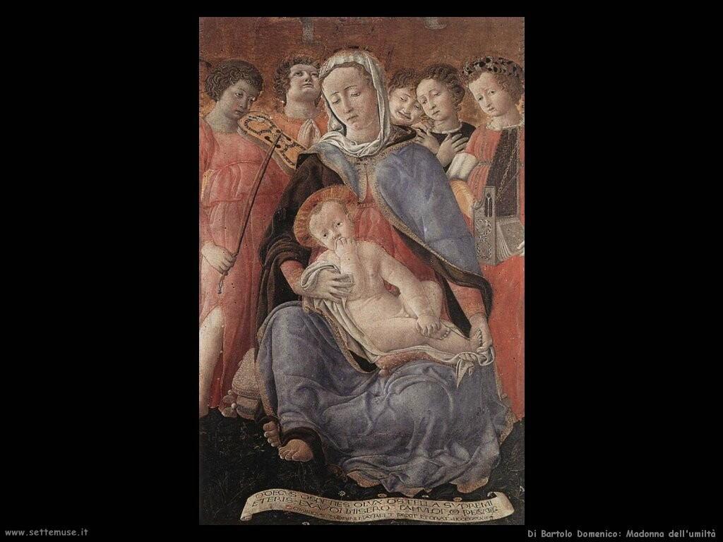 di bartolo domenico Madonna dell'umiltà