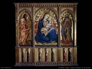 di bartolo taddeo Vergine e bambino con san Giovanni